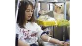 Hơn 1.000 đơn vị máu được tiếp nhận trong ngày hội hiến máu