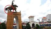 Kiến nghị tôn tạo 2 công trình tượng đài tại quận 1