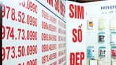 Cương quyết dẹp loạn SIM rác