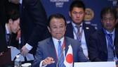 Bộ trưởng Tài chính Nhật Bản Taro Aso  (Ảnh: Kosaku Mimura)