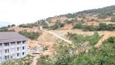 Một dự án xây dựng khu biệt thự nghỉ dưỡng trái phép trên bán đảo Sơn Trà.