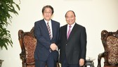 Thủ tướng Nguyễn Xuân Phúc tiếp Đại sứ Nhật Bản Kuinio Umeda. Ảnh: VGP