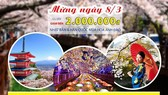 Nhiều ưu đãi dịp 8-3 tại hệ thống Saigontourist