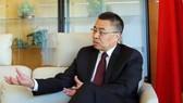 Đại sứ Trung Quốc tại Tổ chức Thương mại thế giới (WTO) Trương Hướng Thần. Ảnh: REUTERS