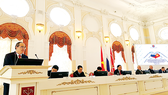 Trang trọng kỷ niệm 95 năm ngày Chủ tịch Hồ Chí Minh lần đầu tiên đến Nga
