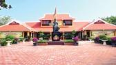 Một góc di tích lịch sử Khu lưu niệm Đại thi hào Nguyễn Du ở huyện Nghi Xuân, tỉnh Hà Tĩnh