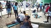Động đất tại Haiti đã để lại nhiều thiệt hại cả về người và của. (Nguồn: Daily Express)