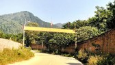 Đường vào thôn Minh Tân, xã Minh Trí, huyện Sóc Sơn