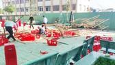 Quan tâm, hỗ trợ học sinh bị thương trong tai nạn sập giàn giáo ở huyện Bình Chánh