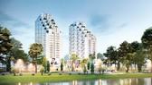 Dự án Khu căn hộ Luxgarden (quận 7) là một trong những dự án ấn tượng nhất của Đất Xanh được lựa chọn
