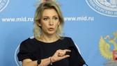 Người Phát ngôn Bộ Ngoại giao Nga Maria Zakharova. Nguồn: Sputnik