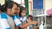 Trường THCS Thạnh An (Cần Giờ, TPHCM) được trang bị đầy đủ phòng thí nghiệm cho các học sinh