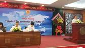 Ông Nguyễn Ngọc Hòa, Phó Giám đốc Sở Công Thương TPHCM đang kiến nghị giải pháp hỗ trợ cho DN thành phố mở rộng thị trường trong thời gian tới