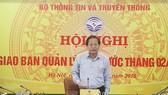 Bộ trưởng TT&TT Trương Minh Tuấn. Ảnh: hoinhabaovietnam.vn