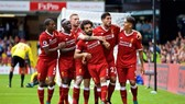 Liverpool trong trận thắng Watford 5 - 0