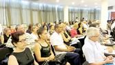 Các doanh nghiệp của Cuba tham dự hội nghị. Ảnh: THÚY HẢI