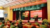 Thứ trưởng Lê Quý Vương phát biểu tại Hội nghị. Ảnh: Bộ Công an