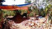 Khai thác khoáng sản trái phép, một người dân bị phạt 60 triệu đồng