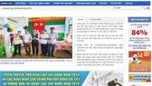 Trang web Sở Xây dựng TPHCM