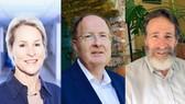 3 nhà khoa học đoạt giải Nobel Hóa học 2018 Frances H.Arnold, Gregory P.Winter và George P.Smith