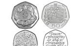 Anh phát hành đồng 50 xu mới nhân sự kiện Brexit
