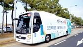 Sân bay Hàn Quốc có xe buýt tự lái