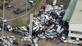 Siêu bão Jebi gây thiệt hại tại miền Tây Nhật Bản ngày 5-9-2018