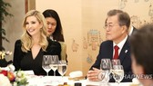 Moon, Ivanka stress need for peace, but differ on how to achieve goal