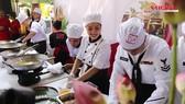 USS Carl Vinson's chefs make Vietnamese dishes