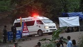 VIDEO:Four boys rescued from flooded Thai cave: official