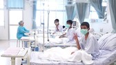 'Wild Boar' team members at Chiang Rai hospital (Photo: AFP/VNA)