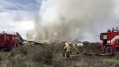 Dozens injured in Mexican plane crash