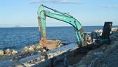 Cua Dai beach dyke not to complete before flood season