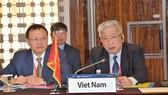 Vietnamese Deputy Defence Minister Sen. Lieut. Gen Nguyen Chi Vinh (R) at the event (Source: VNA)