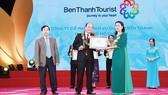 BenThanh Tourist nhận danh hiệu Top 10 doanh nghiệp lữ hành nội địa hàng đầu Việt Nam 2017