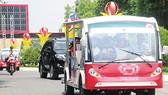 Tây Ninh thí điểm vận tải khách bằng xe điện trong thành phố và chân núi Bà Đen
