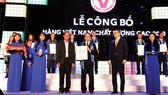 Ông Ni Chih Hao - Phó Tổng Giám đốc thường trực Vedan nhận giải