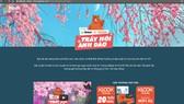 """Chuỗi cuộc thi """"Cùng GoBear & KLOOK trẩy hội anh đào"""" được tổ chức trên trang web www.gobear.com/vn/campaign/hoaanhdao trong suốt tháng 3-2018"""
