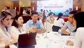"""Các DN CNHT đang tham gia kết nối trực tiếp tại """"Ngày hội tìm kiếm nhà cung cấp công nghiệp hỗ trợ 2018 - SFS 2018"""""""