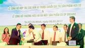 Saigon Co.op hợp tác với đơn vị sản xuất phát triển nhãn hàng riêng Co.op Organic