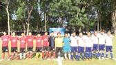Công ty Vedan Việt Nam tổ chức giải bóng đá chào mừng 43 năm Ngày Giải phóng miền Nam thống nhất đất
