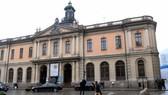 Viện Hàn lâm Thụy Điển đặt tại tòa nhà thị trường chứng khoán cũ ở Stockholm, Thụy Điển