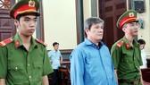 Bị cáo Dương Thanh Cường tại phiên tòa