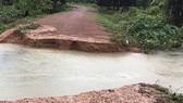 Kon Tum: Di dời hơn 70 hộ dân vùng có nguy cơ sạt lở đến nơi an toàn