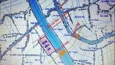 Vị trí dự kiến xây dựng hệ thống thủy lợi Cái Lớn - Cái Bé