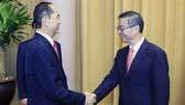 Chủ tịch nước Trần Đại Quang tiếp Chánh án Tòa án Nhân dân (TAND) tối cao Trung Quốc Chu Cường