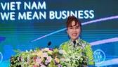 Bà Nguyễn Thị Phương Thảo, một trong 50 lãnh đạo và doanh nhân tiêu biểu toàn cầu năm 2018. Ảnh: TTXVN