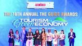The Guide Awards tôn vinh các doanh nghiệp tiêu biểu có nhiều đóng góp cho sự phát triển du lịch nói riêng và kinh tế xã hội nói chung