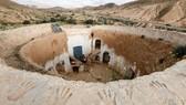 Những gia đình cuối cùng sống dưới lòng đất ở Tunisia