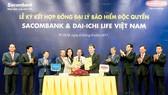 Hợp tác Sacombank và Dai-ichi Life Việt Nam tăng trưởng ngoài mong đợi